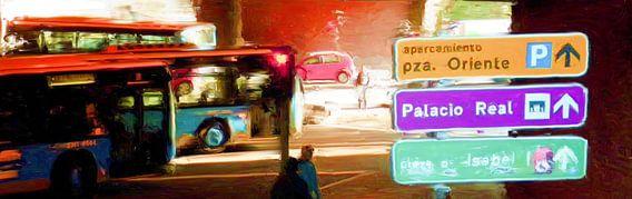 Madrid ondergronds van Frans Jonker