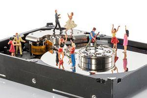 dance party on harddisk