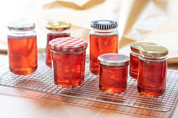 Belle gelée de coing rouge sur Annemieke Glutenvrij