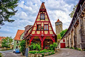 Motif de la carte postale Rothenburg ob der Tauber sur Roith Fotografie