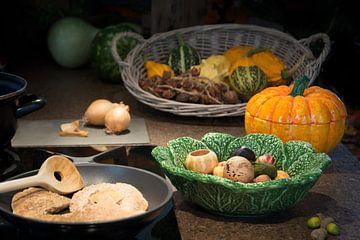 Koken in de herfst van Christa Thieme-Krus