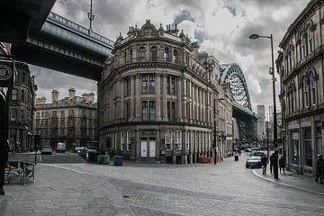 Straße in Newcastle von Stephan Scheffer