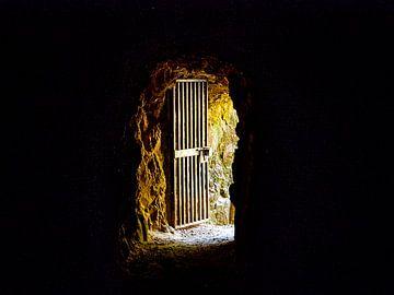 De poort van een Nieuw-Zeelandse goudmijn van Rik Pijnenburg