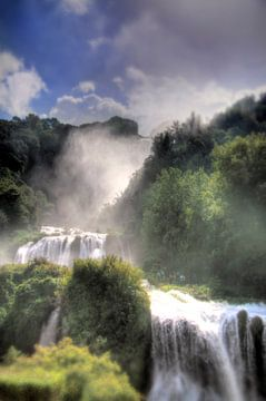 Cascade de Terni sur Sander van Geest