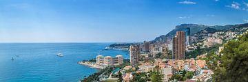 Monaco & Côte d'Azur | Panoramic van Melanie Viola