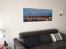 Klantfoto:  Skyline Amsterdam van Amsterdam Fotografie (Peter Bartelings)