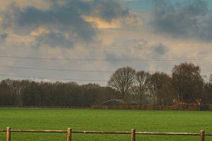 Boeren landschap van
