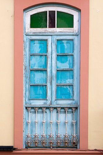 Balkondeur in kleur van Jolanda van Eek