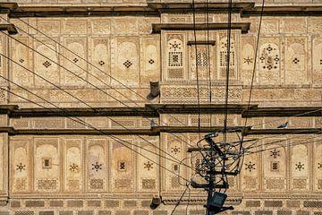Architektonisches Detail von Mandir Palace, Jaisalmer, Indien, Asien von Tjeerd Kruse