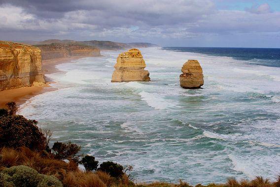 Erosie en oceaangeweld, Great Ocean Road