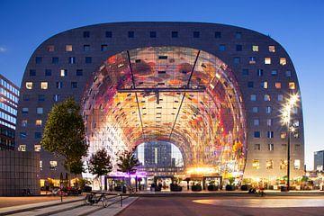 Äußere Markthalle in Rotterdam von Peter de Kievith Fotografie