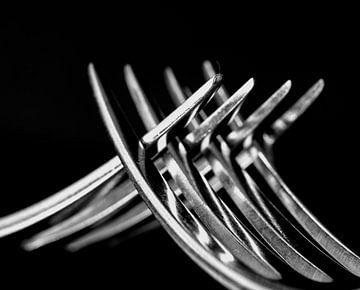 tangled forks von Franka vander Helm