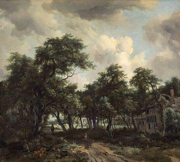 Hütte zwischen Bäumen, Meindert Hobbema