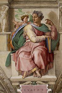 Michelangelo. Sixtijnse kapel, profeet