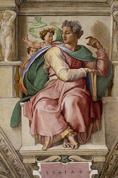 Michelangelo. Sixtijnse kapel (detail) van