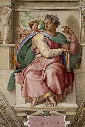 Michelangelo. Sixtijnse kapel (detail) van 1000 Schilderijen