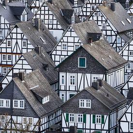 Fachwerkhäuser von Freudenberg von Jürgen Schmittdiel Photography