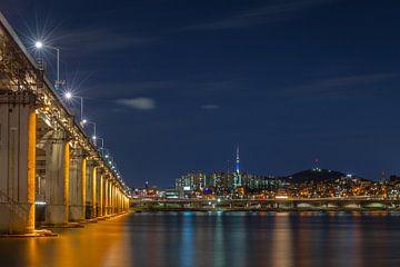 Banpo Bridge & N Seoul Tower