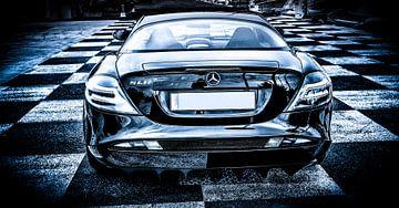 Mercedes McLaren SLR sur Natasja Tollenaar