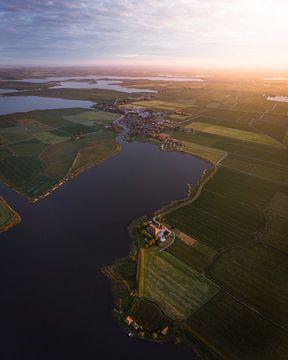Het Friese landschap 3 ! van Ewold Kooistra