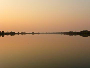 'Zambezi river', Zambia van Martine Joanne