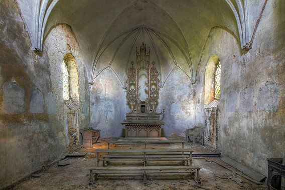 Lief klein kapelletje  van Truus Nijland