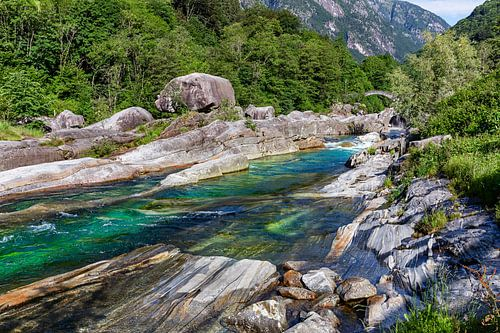 Am grünen Fluss von