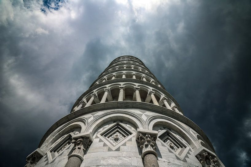Pisa dark side van The Pixel Corner