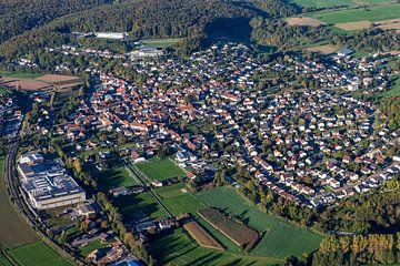 Hoffenheim von oben von Uwe Ulrich Grün