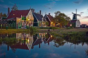 Zaanse Schans houses van