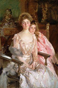 Gretchen Osgood et sa fille Rachel, John Singer Sargent - 1903 sur