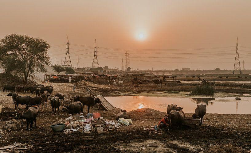 Pakistan | Ravi rivier van Jaap Kroon