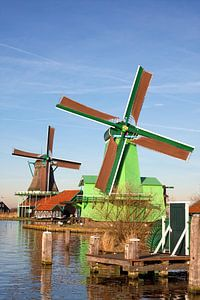 Zaanse Schans windmolens