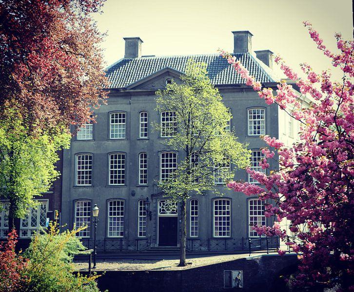 Beautiful old house in Amersfoort, Netherlands van Daniel Chambers