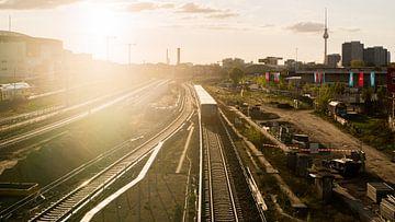 Berlijn, zonsopkomst van Wijnand Groenen