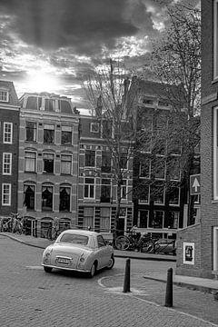 Oldtimer sur le canal sur Foto Amsterdam / Peter Bartelings