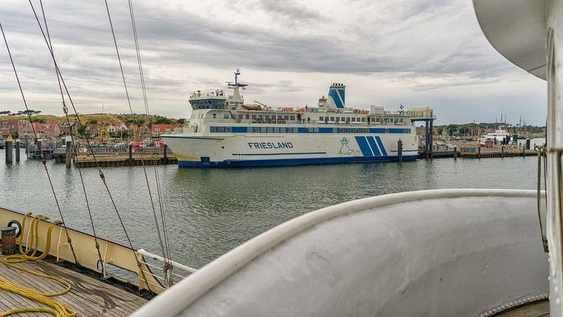 Veerboot Friesland van Roel Ovinge