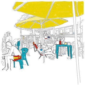 Pipa-Strand-Bar von Peer Rutten