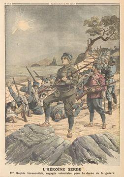 Weibliche Helden im Krieg, 1912 von Atelier Liesjes