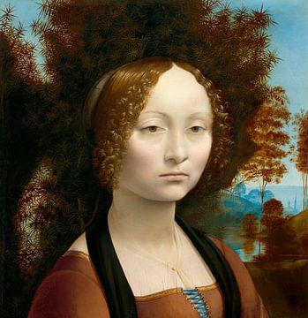 Ginevra de' Benci, Leonardo da Vinci