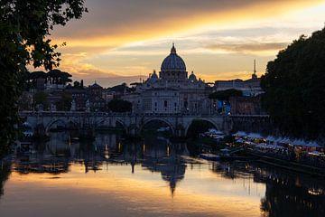 Ein Sonnenuntergang in Rom von Joy Mennings