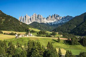 Berglandschap in de Dolomieten van Martin Smit