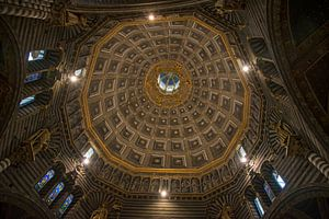 Kuppel der Kathedrale in Siena