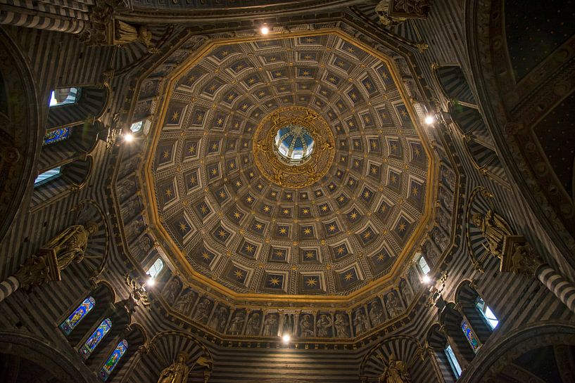 Kuppel der Kathedrale in Siena von Barbara Brolsma