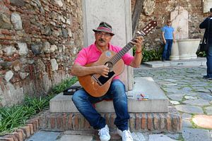 lets play gitar van Peet de Mos
