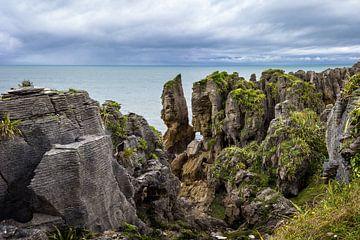 Pancake Rocks, Neuseeland von Rietje Bulthuis
