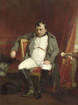 Napoléon à Fontainebleau, Hippolyte Delaroche