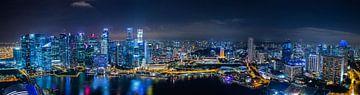 Singapore CityScape van Thomas Froemmel