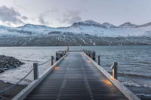 Quay into Fáskrúðsfjörður von
