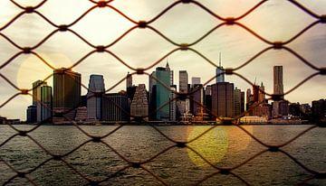 Skyline Manhattan NYC von Wim Schuurmans